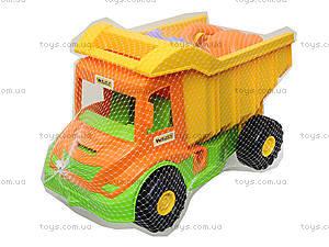 Игровой грузовик с набором для песка и лейкой, 39206, отзывы