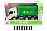 Грузовик - мусоровоз, WY320A, купить