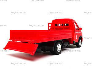 Игрушечный грузовик «Пожарная служба» серия «Автопарк», 9700A, фото