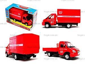 Игрушечный грузовик «Пожарная служба» серия «Автопарк», 9700A