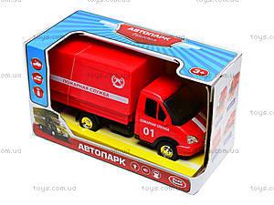 Игрушечный грузовик «Пожарная служба» серия «Автопарк», 9700A, отзывы