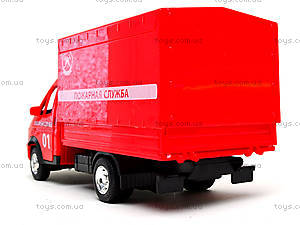 Игрушечный грузовик «Пожарная служба» серия «Автопарк», 9700A, цена