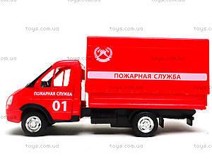 Игрушечный грузовик «Пожарная служба» серия «Автопарк», 9700A, игрушки