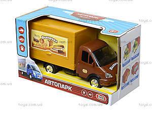 Инерционный грузовик с выпечкой серии «Автопарк», 9701B, отзывы
