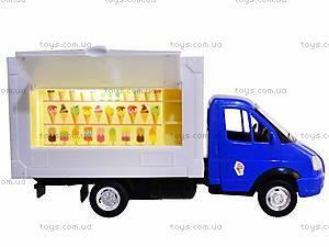 Игрушечный магазин на колесах «Мороженое», 9701C, купить