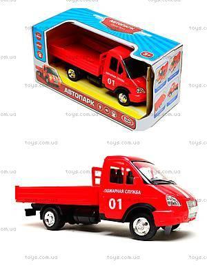 Игрушечный грузовик с кузовом «Пожарная служба», 9702A