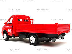 Игрушечный грузовик с кузовом «Пожарная служба», 9702A, отзывы