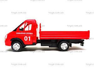 Игрушечный грузовик с кузовом «Пожарная служба», 9702A, цена