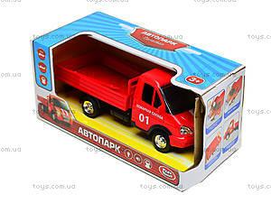 Игрушечный грузовик с кузовом «Пожарная служба», 9702A, игрушки