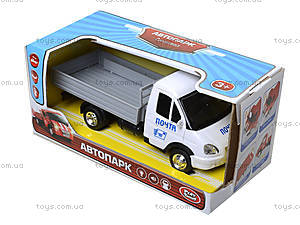 Игрушечный грузовик «Почта» с музыкой, 9702B, цена