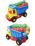 Грузовик с кеглями «Mini truck», 39220, магазин игрушек