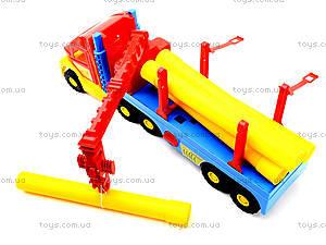 Грузовик с краном Super Truck, 36540, купить