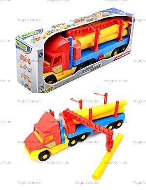 Грузовик с краном Super Truck, 36540