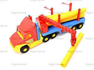 Грузовик с краном Super Truck, 36540, детские игрушки
