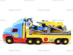 Грузовик с машинами «Формула», 36620, цена