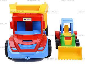 Набор игрушечных машин грузовик с трактором «Mini truck», 39219, купить