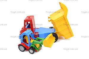 Набор игрушечных машин грузовик с трактором «Mini truck», 39219, фото