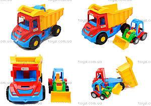Набор игрушечных машин грузовик с трактором «Mini truck», 39219