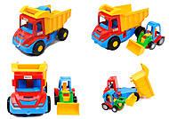 Набор игрушечных машин грузовик с трактором «Mini truck», 39219, отзывы