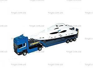 Игрушечный грузовик с яхтой «Скания», 10912-00-CIS, купить
