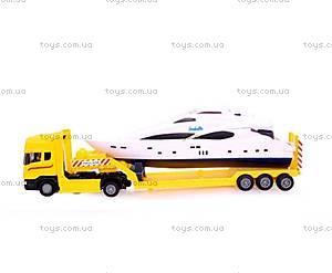 Игрушечный грузовик с яхтой «Скания», 10912-00-CIS