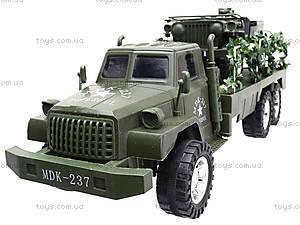 Военный грузовик с машиной, 237-8P, купить