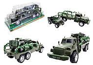 Военный грузовик с машиной, 237-8P