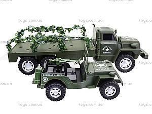 Военный грузовик с машиной, 237-8P, отзывы