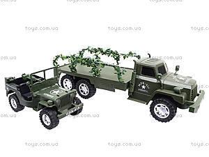 Военный грузовик с машиной, 237-8P, цена
