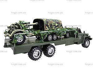 Грузовик военный с машиной, 237-B1P, купить