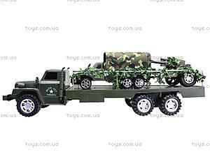 Грузовик военный с машиной, 237-B1P, отзывы