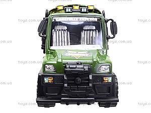 Детский военный грузовик с тентом, 468-15A, купить
