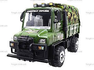 Детский военный грузовик с тентом, 468-15A, фото