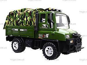 Детский военный грузовик с тентом, 468-15A, цена