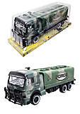 Детский военный грузовик Force, 668-10, фото