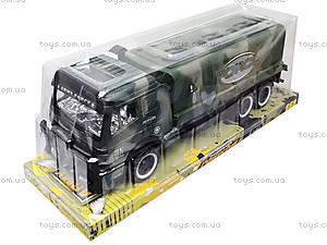 Детский военный грузовик Force, 668-10, цена