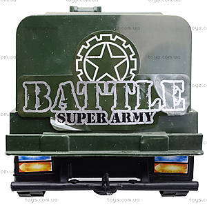 Детский военный грузовик Force, 668-10, игрушки