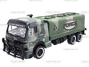 Детский военный грузовик Force, 668-10, детские игрушки