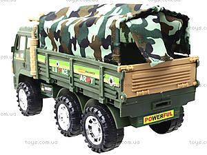 Военный грузовик с тентом, 8810, игрушки