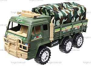 Военный грузовик с тентом, 8810, детские игрушки