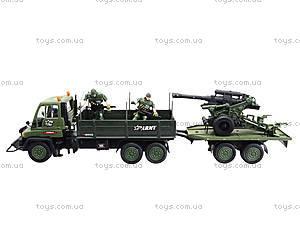 Игровой военный набор «Грузовик с солдатами», 3000-1, цена