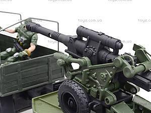 Игровой военный набор «Грузовик с солдатами», 3000-1, игрушки