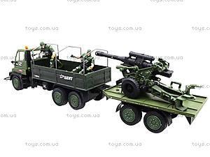 Игровой военный набор «Грузовик с солдатами», 3000-1, детские игрушки