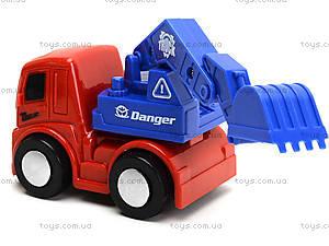Инерционный грузовик «Спецтехника», 860-1, игрушки