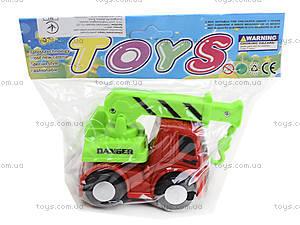 Инерционный грузовик «Спецтехника», 860-1, детские игрушки