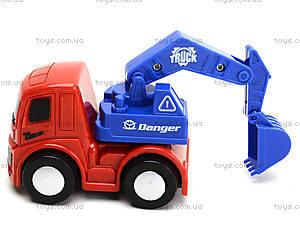Инерционный грузовик «Спецтехника», 860-1, магазин игрушек