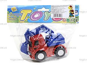Инерционный грузовик «Спецтехника», 860-1, toys
