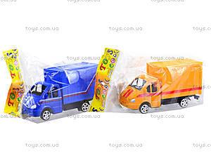 Инерционный игровой грузовик, 55089, фото