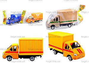 Инерционный игровой грузовик, 55089