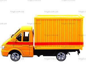 Инерционный игровой грузовик, 55089, детские игрушки